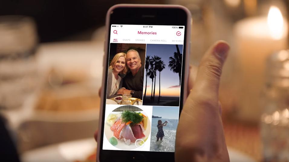 Memories er den nye, store Snapchat-oppdateringen.