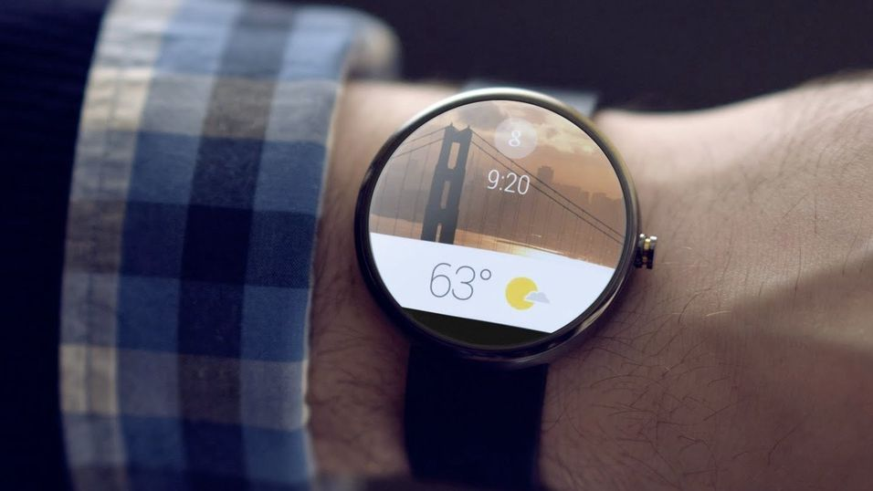 Google skal lage sine egne Android Wear-smartklokke, ifølge troverdige rykter. Dette er et illustrasjonsbilde.