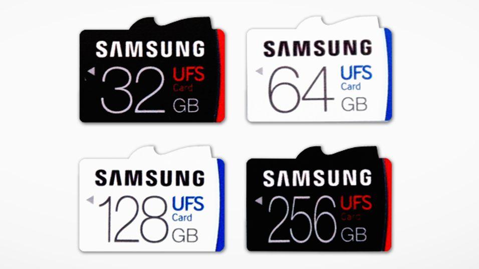 Samsung lanserer lynkjapt minnekort