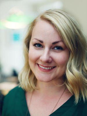 Grunnlegger og administrerende direktør i Deemly, Sara Green Brodersen.