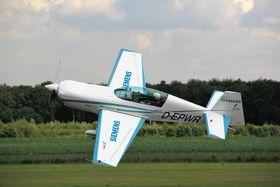 Extra 330LE-flyet med en 260 kW elmotor.