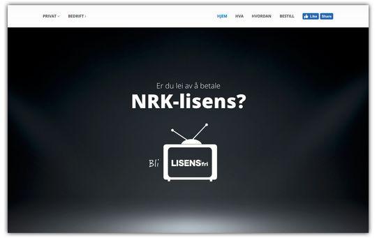 Lisensfri.no plomberer TV-er for kunder, slik at de kan slippe å betale kringkastingsavgiften.