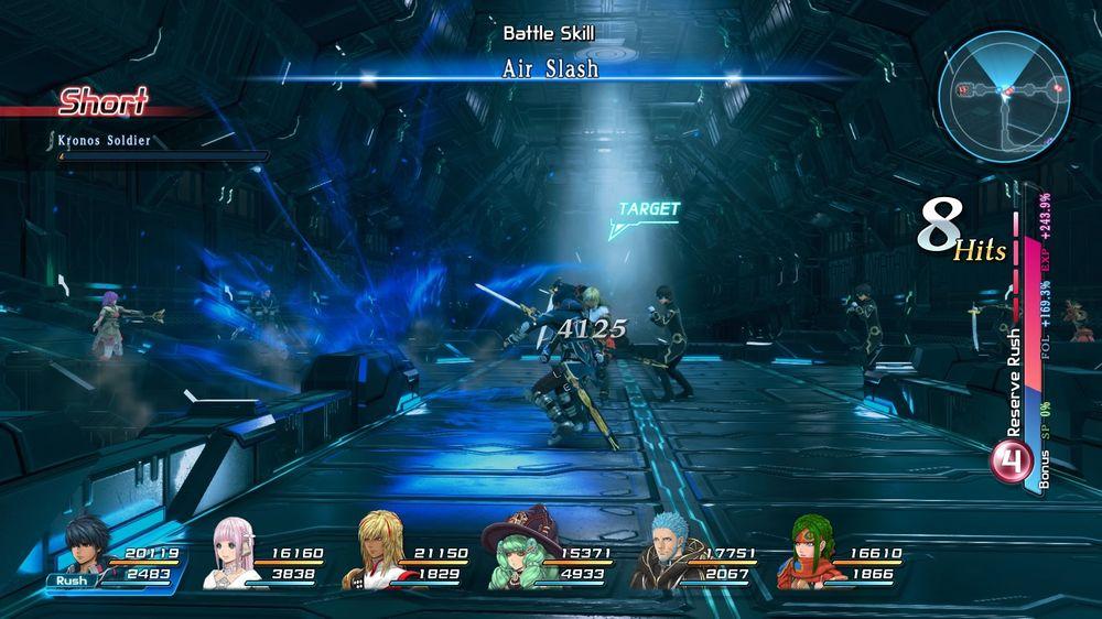 Kampsystemet er spelets definitive høgdepunkt.