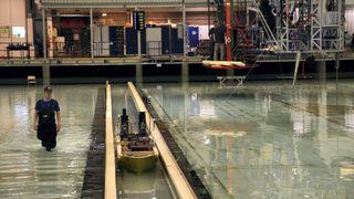 Her modelltester de Stad skipstunnel: – Har gått over all forventning