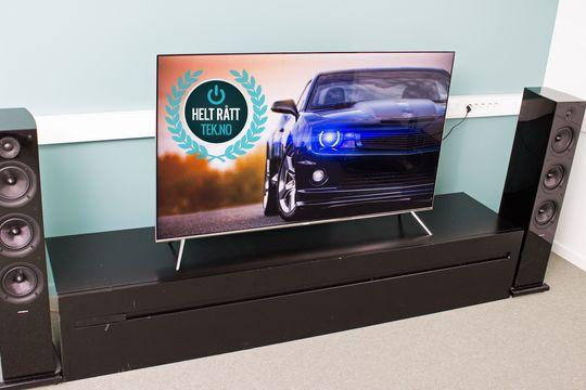 Skal du bruke 12 000 kroner på en TV, vil vi anbefale deg å kjøpe KS7005.