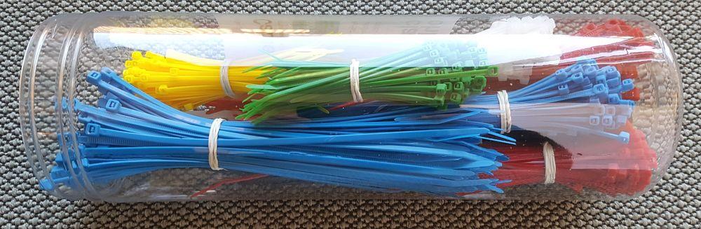 Buntebånd kommer i flere farger og størrelser.