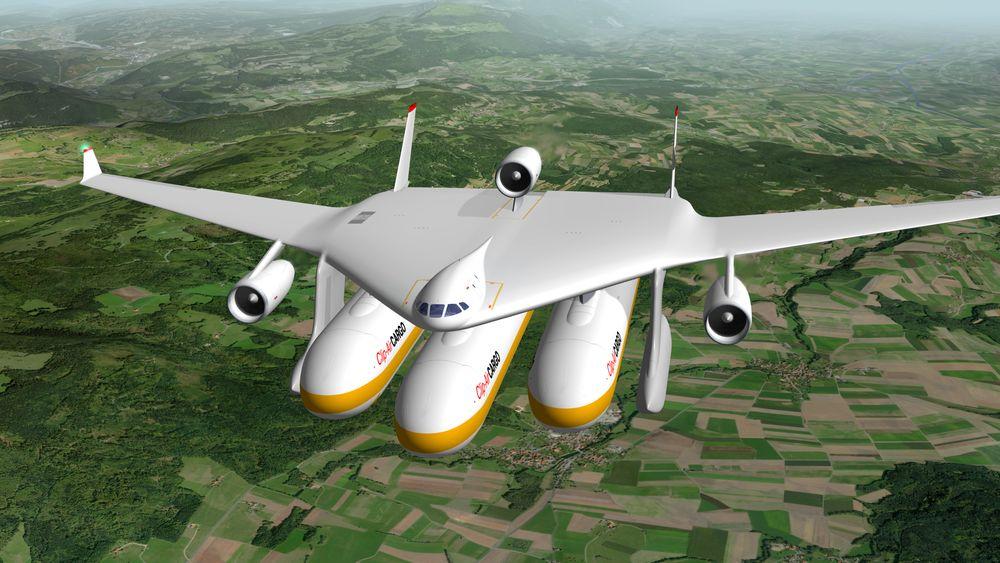 Clip-Air i ren cargo-konfigurasjon.