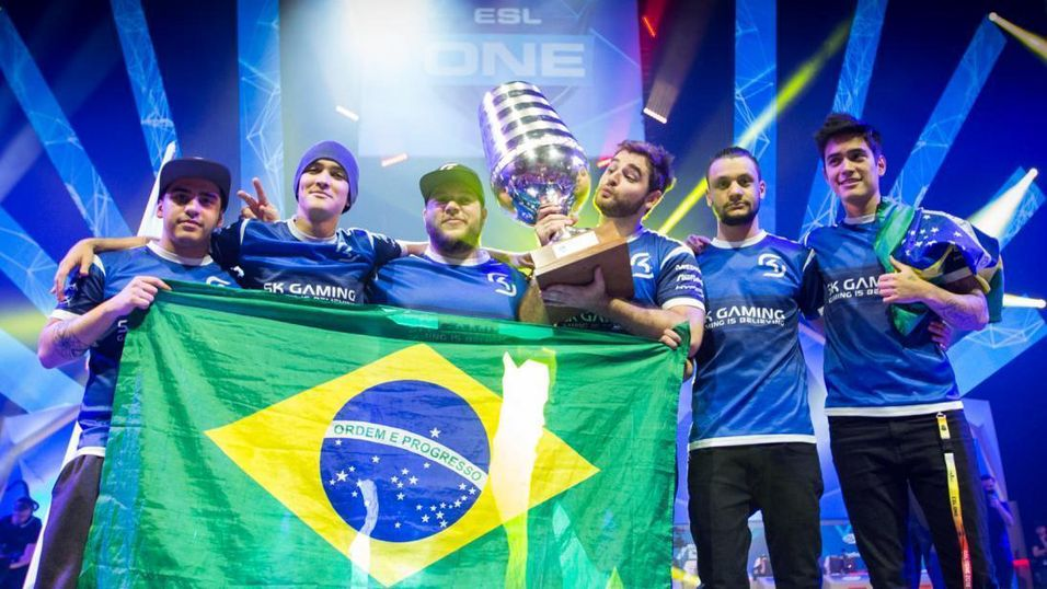De brasilianske superstjernene i SK Gaming