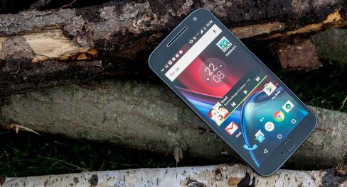 Motorola Moto G4 Plus.