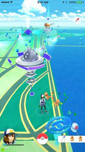 I Pokémon GO må du bevege deg rundt i den virkelige verden.