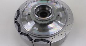 Rotoren til Hondas nye elektromotor.