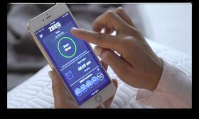 Puten kommer med en egen mobilapp som registrerer dataene og som også kommer med diverse andre funksjoner.