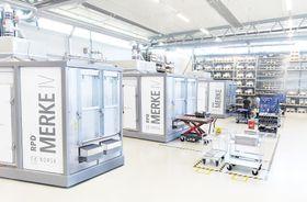 Produksjonsutstyret bygges av Tronrud Engineering på Eggemoen.