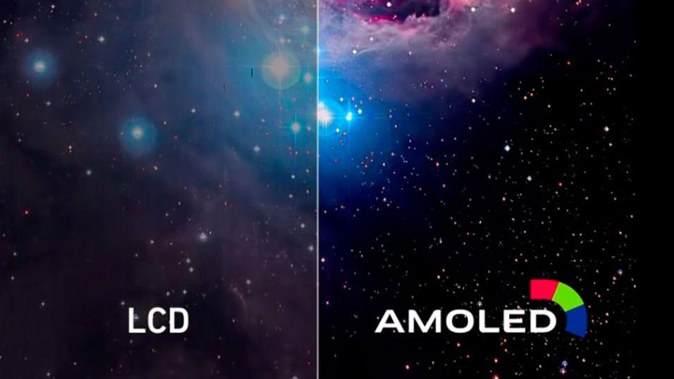 Så mye bedre er AMOLED enn LCD på mobiler