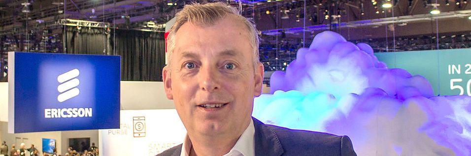 Teknisk direktør og strategisjef i Ericsson, Ulf Ewaldsson, sier at selskapet  i Sverige har et klart mål om å være i front innen forskning og utvikling i verden.