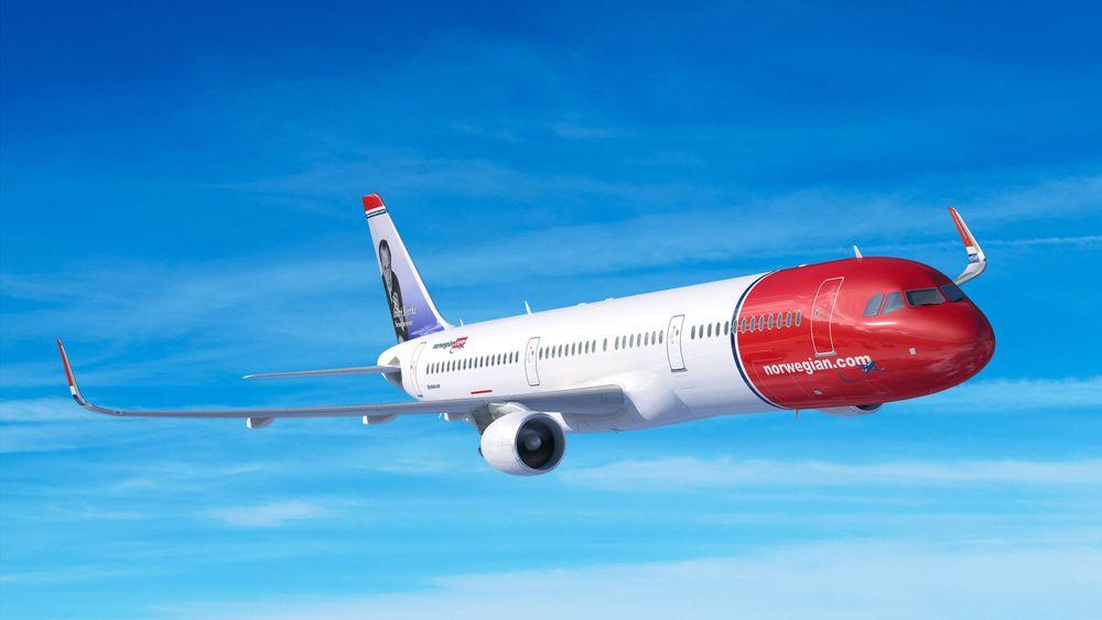 Norweigan skal motta åtte A321LR i 2019.