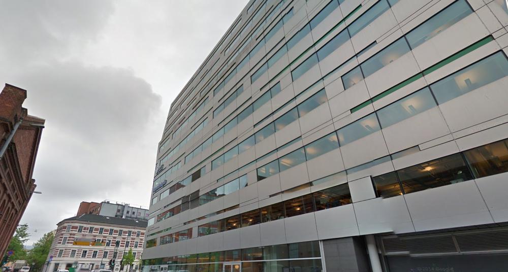 Domeneshop As ligger i Chr. Krohgs gate i Oslo. Selskapet gikk med 14 millioner i overskudd i 2014.