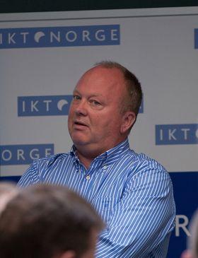 Lavere elavgift er positivt, mener Knut Molaug i Green Mountain Data Centre. Arkivfoto.