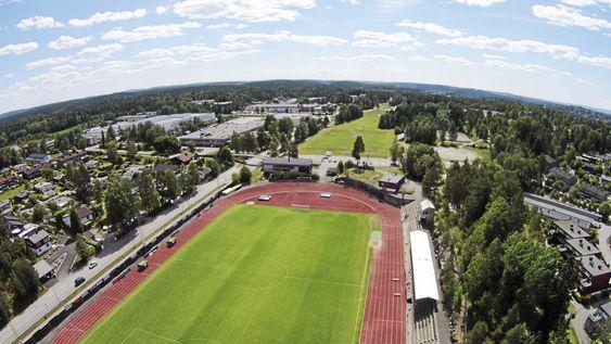 STADION: Også her vil det skje mye i forbindelse med den nye idrettsparken.