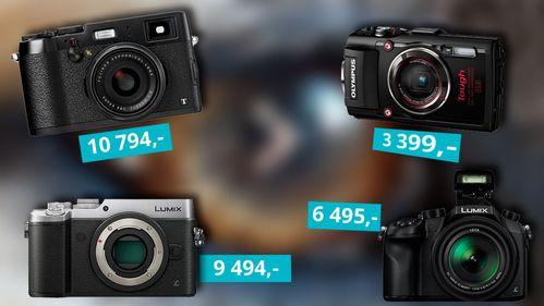 Her er kameraene vi anbefaler i sommer
