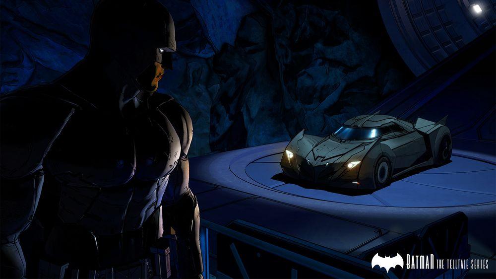 Telltales versjon av Batmobilen er lekker.