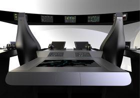 Den integrerte skipsbroløsningen, som reduserer antall skjermer og inntrykk, for å gi bedre arbeidsvilkår og sikkerhet.