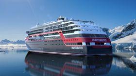 Ekspedisjonsskipene til Hurtigruten blir isforsterket. Endelig isklasse er ikke bestemt.
