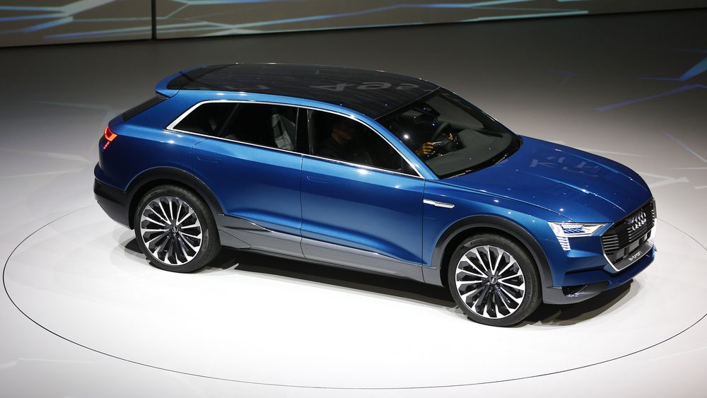 Audi skal bruke store summer på utvikling av elbil, ifølge anonyme kilder i Audi.