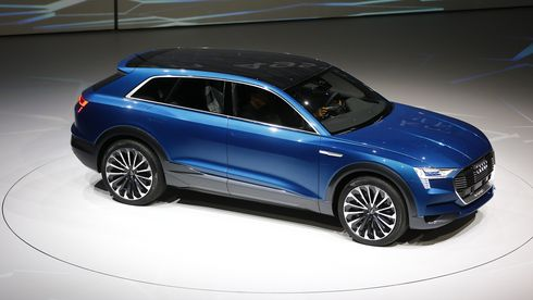 En av fire biler fra Audi skal være elektrisk
