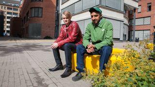 Trosser høy ledighet: Simen og Illham skal bli ingeniører