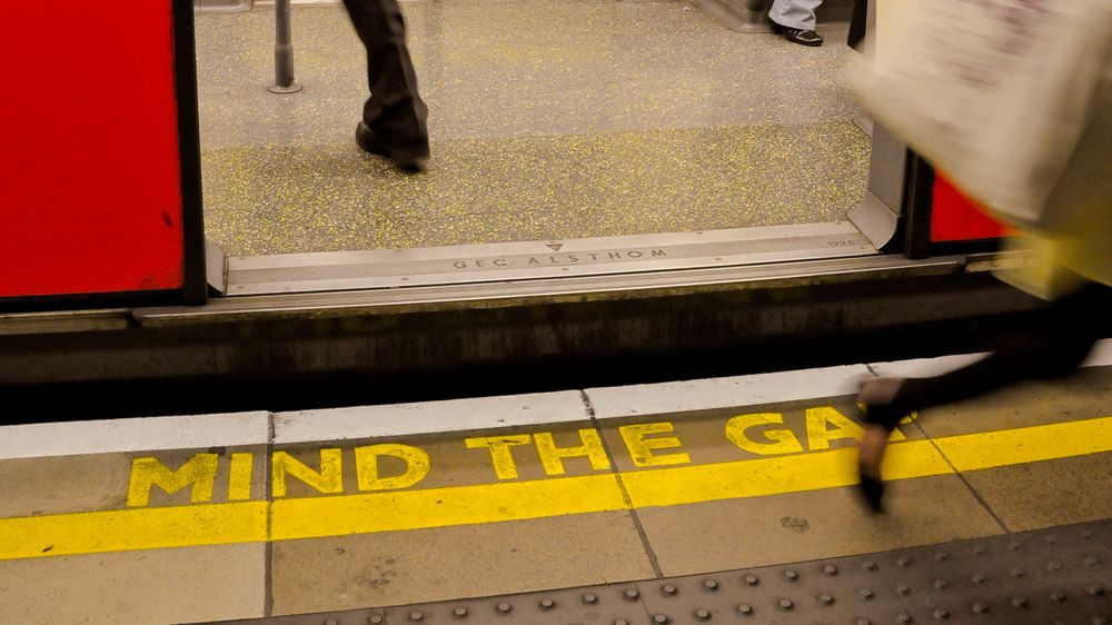 KOMMENTAR: Mind the gap!