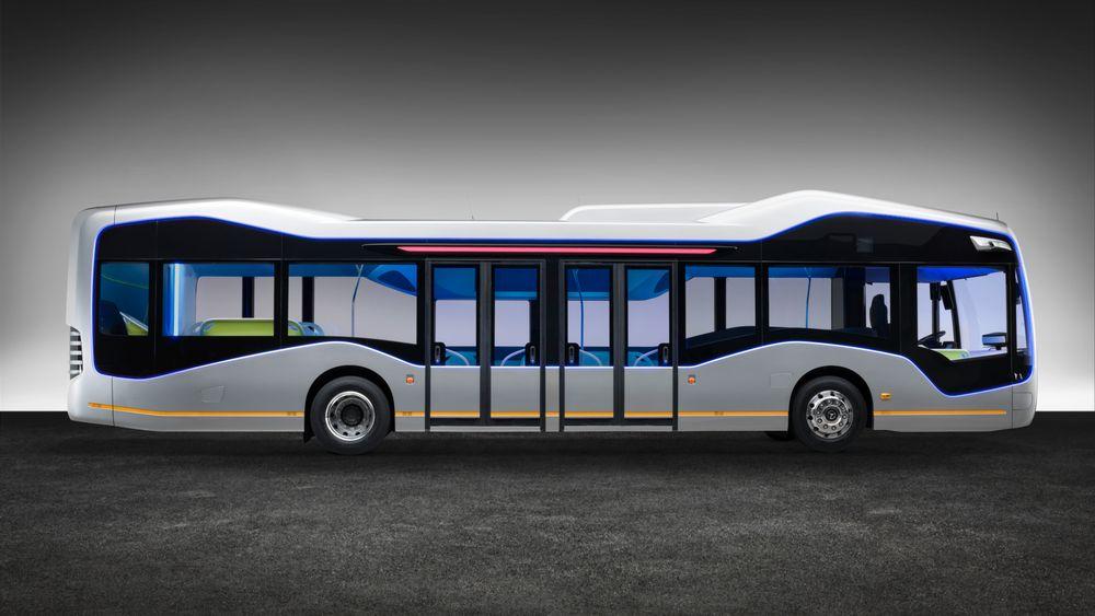 Denne bussen kan kjøre seg selv, og testes ut i Amsterdam.