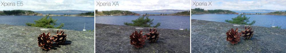 Bildekvaliteten i Xperia E5 er generelt veldig god, prisklassen tatt i betraktning.