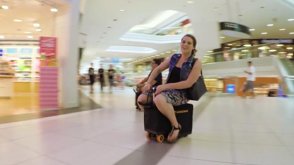 Den kjørende bagasjebagen Modobag.