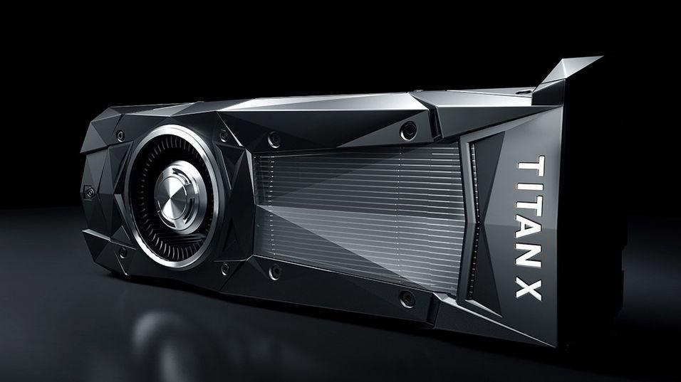 Nvidias nye Titan X benytter Pascal-arkitekturen og har en ytelse på 11 teraflops.