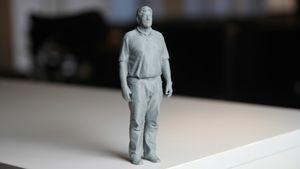 Vi skannet og 3D-printet en kollega