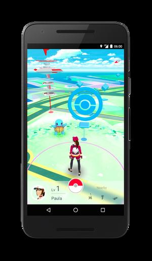 Andre spillere venter rundt enhver sving i Pokémon Go.