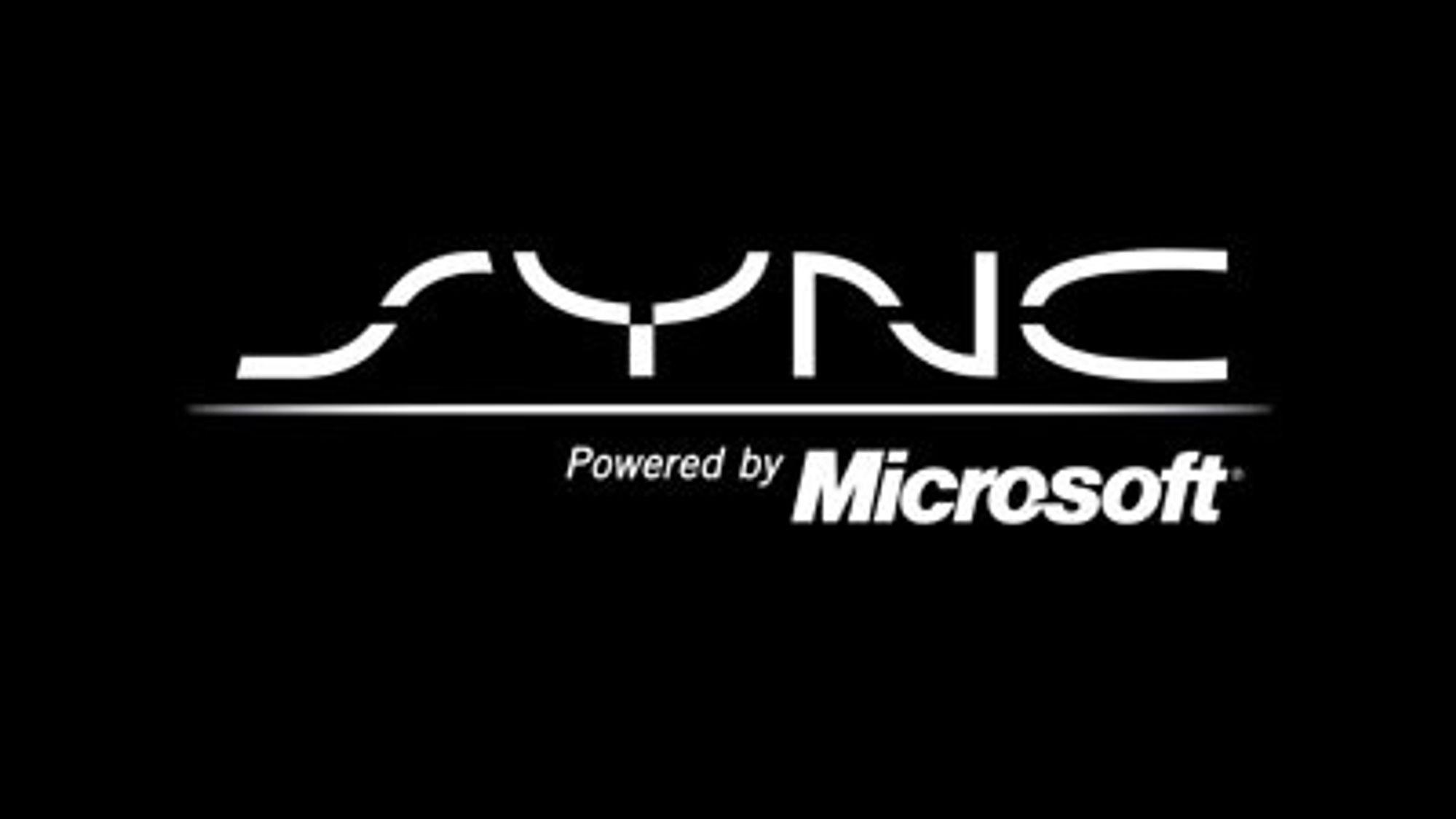 Sync-logo med Microsoft som utvikler fra lanseringen i 2008.