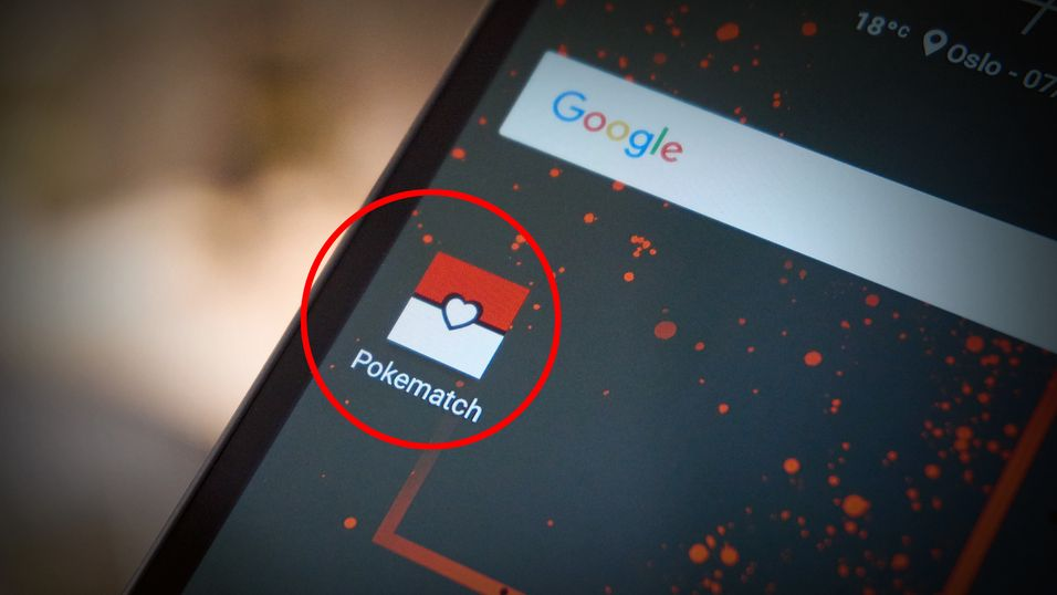 Pokématch er en splitter ny dating-app.