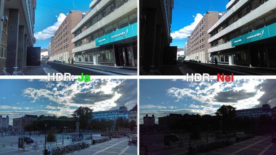 Eksempler på HDR-bilder tatt med Desire 530. Joda, det blir bedre, men det blir også problemer på veien.