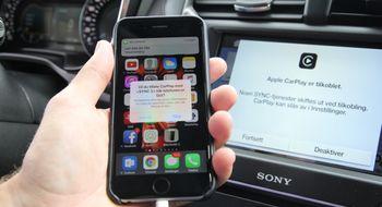 Apple CarPlay Vi har prøvd Apple CarPlay