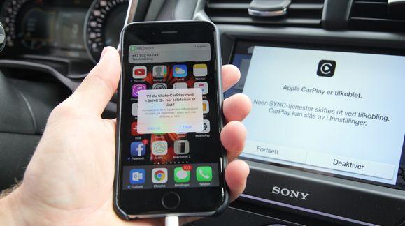 På hjul med Sync, Siri og CarPlay
