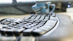 – Ikke ta fra meg tastaturet mitt!
