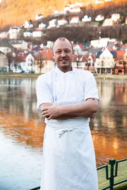 Christopher Haatuft er Bergens fremste matambassadør.