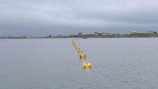 Denne sjøkabelen er 109 kilometer lang og veier 200 tonn