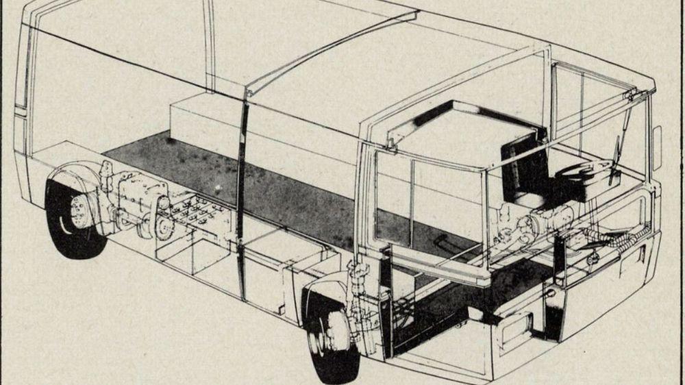 Denne varebilen, som også skulle produseres som minibuss, ble utviklet av Elbil A/S tidlig på 70-tallet.