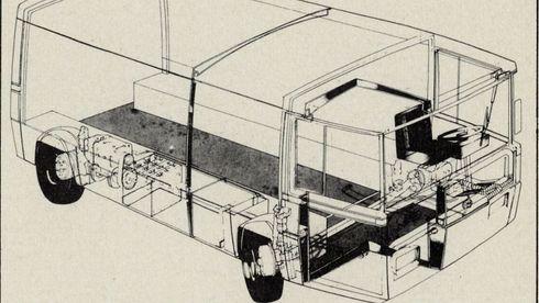 Denne elbilen ble laget i Norge på 70-tallet