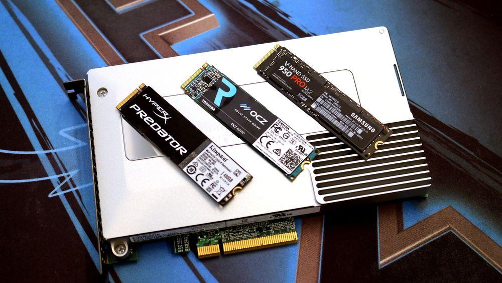TEST: HyperX Predator, OCZ RD400 og Samsung 950 Pro