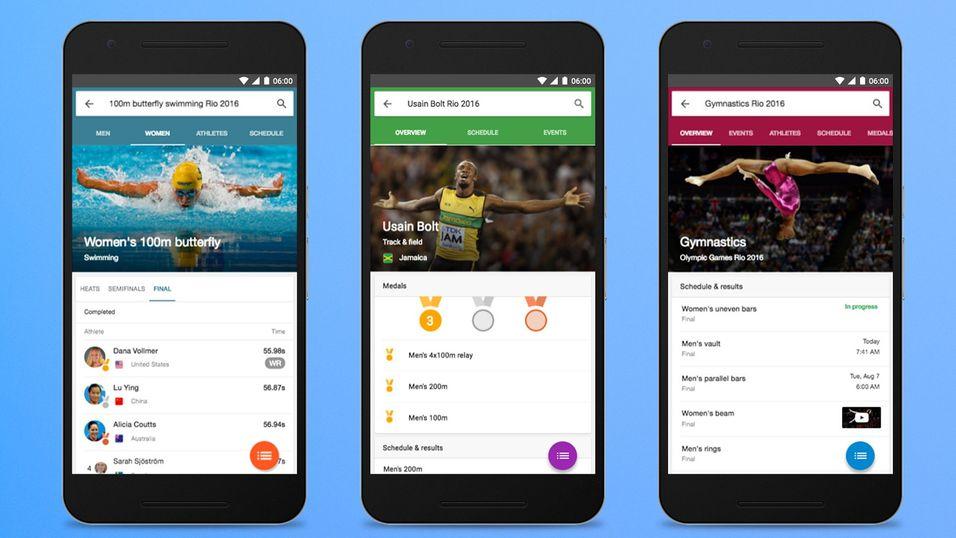 Google forbereder seg på OL på sin egen måte.