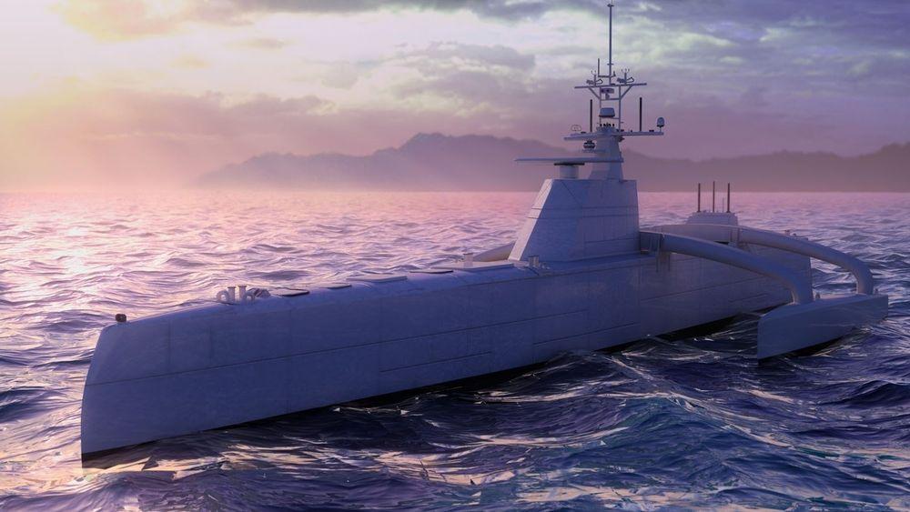 Sea Hunter er en såkalt ACTUV, eller Anti-Submarine Warfare (ASW) Continuous Trail Unmanned Vessel.